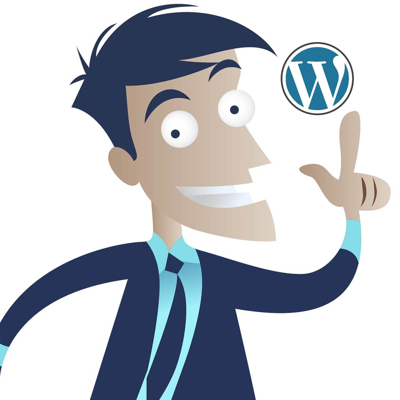 Wordpress Idea Business Man  - 195946 / Pixabay